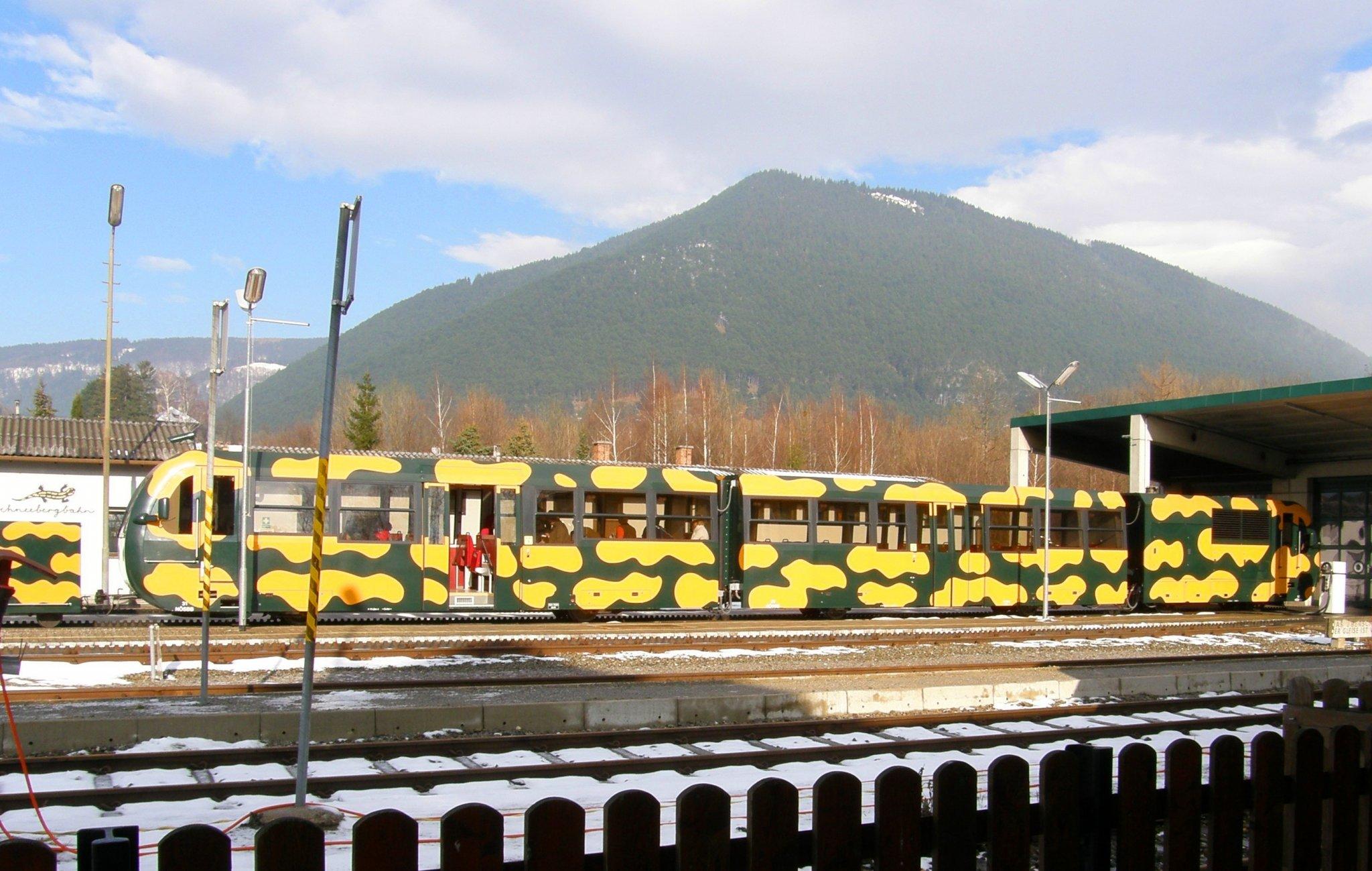 Schneebergbahn – Wikipédia