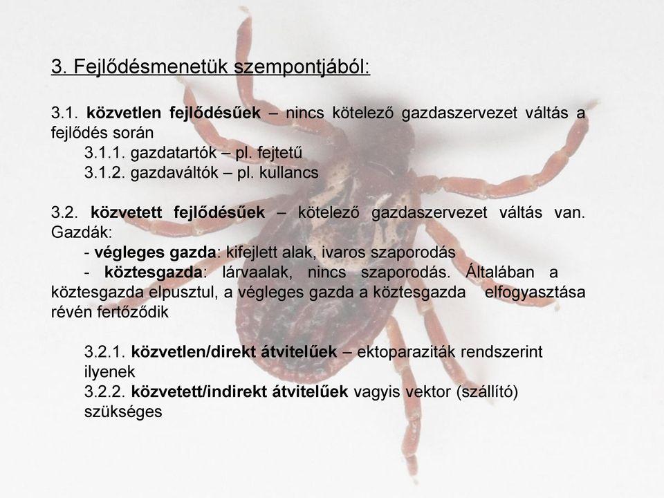 parazita tisztító eszközök)