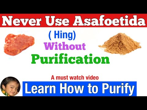 Fűszerház: Hing - ördöggyökér - Asafoetida parazitakezelési receptek