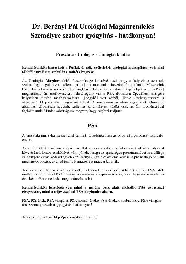 Egy vérvétellel szűrhető a prosztatarák - HáziPatika